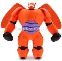 Hot Sale 38CM Big Hero 6 Baymax Plush Dolls Robot Mech Send Their Children Gifts Plush Baby Kids Toys Free Shipping