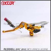 Universal Hydraulic clutch lever master cylinder for 110cc - 250cc dirt Pit Bike ATV Quad Use