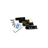 1 Set Black 4 String Bass Bridge Set High Quality Upgrade Individual Bass Bridge