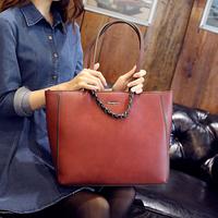 2015 fashion pack (s) women handbags spring nubuck leather bags women handbags bag postman bag free shipping C09-031