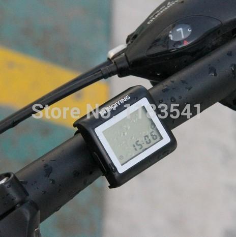Yeni bisiklet elektronik hız su geçirmez evrensel dijital bisiklet