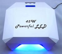 45W 18 pcs Powerful LED Light Nail Art Lamp Led Gel Curing Nail Lamp Nail Dryer Tools