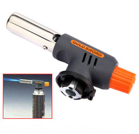 Portable Gas Jet Torch Flame Maker Gun Lighter Butane Weld Burner for Welding Camping Picnic Heating BBQ