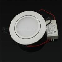 4PCS/lot High brightness lights 5630SMD 5W 7W 9W 12W high power led downlights Warm white/cold white AC85-265V Free shipping