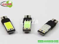 2014 NEWS !! Free shipping 10PC/lot Car Auto LED T10 194 W5W Canbus COB LED Light Bulb No error led light