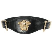 women brand  genuine leather wide  belt women's metal plate wide elastic  cummerbund for female all-match cronyism decoration