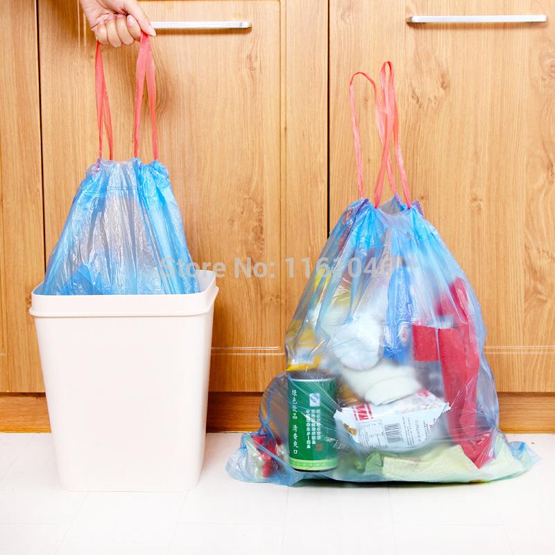 Trash Bag Open Trash Garbage Bags Wear
