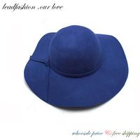 2014 Vintage Sombrero Chapeu Panama Foldable Hats Floppy fan Cap Little Pepper Autumn and Winter Hat for women atacs fg