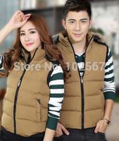 mens 4xl down vest 2014 spring and winter cotton vest male couple tide men's vest down jacket vest