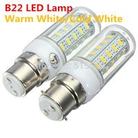 B22 12W 36LED SMD5730 LED Bulbs 220V 230V 240V LED Lights Warm white cold white LED Corn Bulb