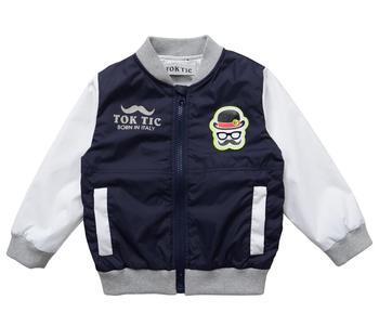 2-6 лет и детей верхняя одежда для детей мода куртки детская одежда ток TIC бренд внутри linging мальчики пальто