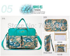 Печать мягкий складной водонепроницаемый младенцы одежда мешок nice одежда сумки 5 цветов для выбора