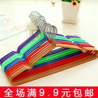 Flusters nano hanger stainless steel seamless metal dip hanger slip-resistant clothing support