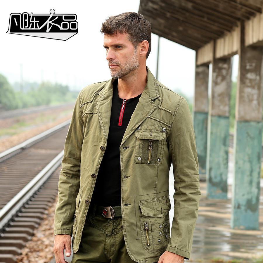 Mens khaki jacket casual - Mens Khaki Jacket Casual 16