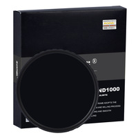 ZOMEI ND1000 58mm ultra-thin slim 18 Layer multi-coated 10 stop/3.0 ND Neutral Density Gray filter 10 dimmer decreas light