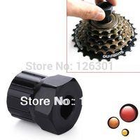 Bike Bicycle Cassette Flywheel Freewheel Lockring Remover Tool Black
