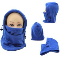 Solid Color Winter Masks Ski Mask Winter Outdoor Warm Hat Windproof Cycling Fleece Hat Windproof warm cap