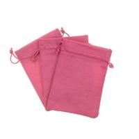 Qumei 13x18CM Drawstring Packaging Linen Bag Grocery Gift Jute Bag for storage Wedding Decor Packing Bag can customize logo