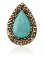 2014 Retro Ring Australian Brand Green 1PC Free Shipping New Classic Wedding Rings For Women Jewelry Design Stone Rings