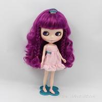 11.5 inch doll nude B female doll bjd 1/6 cute doll big eyes for baby DIY changeing doll