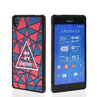 Cute Pattern Flexible Soft Gel Tpu Silicone Skin Slim Back Case Cover For Sony Xperia Z3