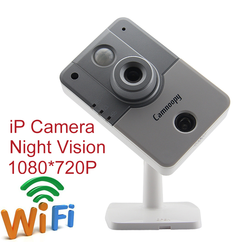 IP Camera Mini Security Indoor Endoscope 1080*720P Wireless Wifi CCTV Camera Intelligent Web Camcorder Night Vision Support TF(China (Mainland))