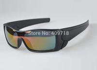 Brand Sports Eyeglass Designer Sunglasses Men's/Women's Fashion Batwolf OO9101-11 Black Sunglass Fire Iridium Lens Polarized