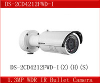 Hikvision 1.3MP WDR IR Bullet Camera,DS-2CD4212FWD-I(Z)(H)(S) =DS-2CD8264FWD-EI,Smart IPC Face/Motion Detection