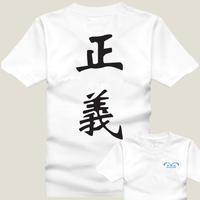 cosplay anime costume onepiece marine T-shirt