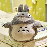 40CM New Arrival Totoro Cartoon Movies Frozen Movies Plush Toys Smiling High Quality
