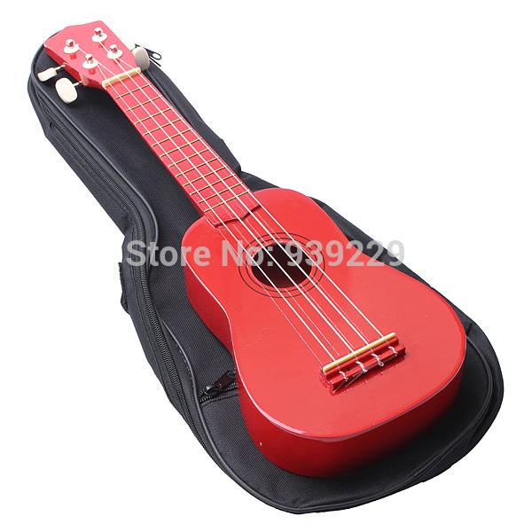 Ukulele Soft Shoulder/Back Carry Gig Guitar Bag Ukelele Uke Case Strap Standard Size For Acoustic Guitar With Shoulder Strap(China (Mainland))