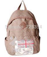 Vintage canvas men's travel bag women's shouder bag school backpack big compacity made of canvas B310