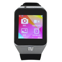"""2014 Top Selling Smart Watch Phone Bluetooth Intelligent Wrist Watch GV09 1.55"""" HD LCD Touch Screen Support GSM/GPRS Camera"""