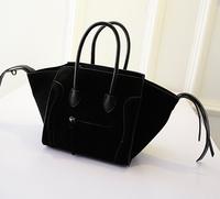 Famous Luxury Brand Fashion Women Handbag Lady PU Leather Smiley Tote Smile Face Tassel Classic Purse HOT SALE