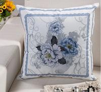 France Plain Floral Cotton Seat Cushion Cover New Classical Joyous Pillow Case Hotel Home Decor Wholesale New Classical Retro