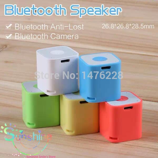 Mini speaker bluetooth portatile senza fili audio di qualità hi-fi altoparlante del telefono controller della videocamera cinema bluetooth contro- Lost