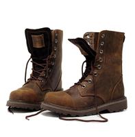 Men boots Handmade Genuine leather warm plus size men winter shoes,full grain leather Super hot men winter autumn spring shoes 3