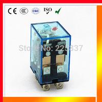 omron LY2N-J LY2NJ LY2 JQX-13F HH62P (5pcs/lot) high quality electromagnetic coil 12vdc 220v 24v 48v ac dc 10A micro relay