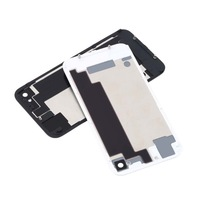 1pcs Battery Cover Glass Rear Back Door white + Tool for iPhone 4S