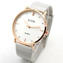Caliente venta! alta calidad mujeres relojes de vestir silver Band moda Top marca de lujo para mujer reloj de espejo de mármol de cuarzo manecilla del reloj Q13