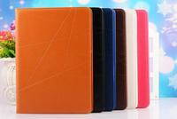 Fashion Luxury Card Slot Flip Leather Case Cover For Apple Ipad Mini 1 2 3 & Ipad 6(air 2) PK MOOKE Ultra Thin Sleep Wake Up