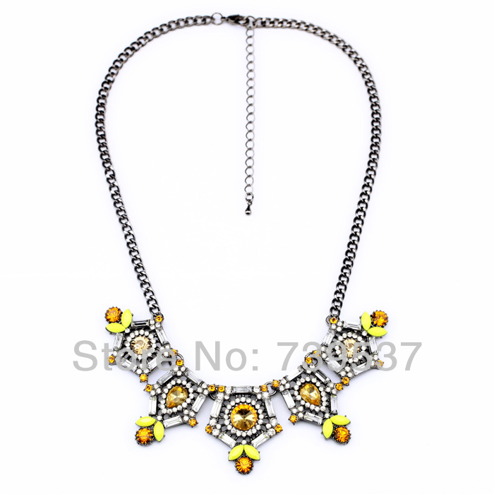 xl00739 Fair Trade Citrine Necklace Mexican Silver Accessory For Sale(China (Mainland))