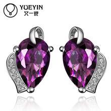 FVRS022 2015 new fine jewelry sets Extravagant Party jewlery set for lady Fashion Big Crystal set