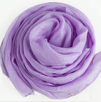 Chiffon and scarf  Light purple
