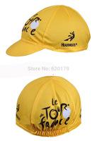 Yellow Tour de france Hood Hat Cycling Cap Team Bike Ride Sportsweart Headgear Hot sale hat cool Bicycle Sportswear