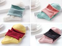 Female socks female piles of socks double layer socks vintage socks 100% cotton spring and autumn 100% cotton knee-high