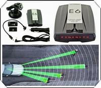 car detector Russian / English Voice Anti Radar Detector LED Display  brand new