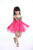 Peacemaker Girl dress girl clothing kids dress lace princess ball gown  summer little girl dress sleeveless 3 colors
