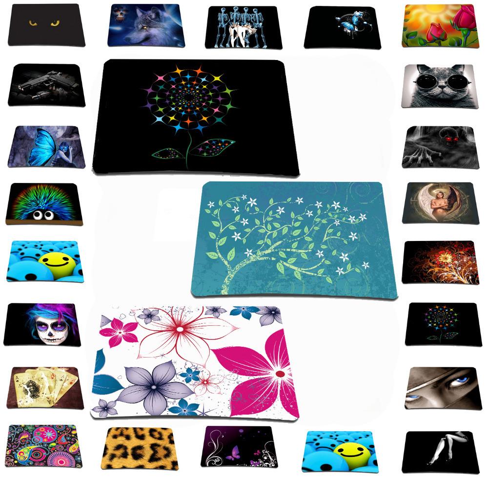 Retail Wholesale New Women Girls Christmas Gift Mousepad Anti-slip Slim Soft Elegant Mouse Personality Pad Mat For Optical Mice(China (Mainland))