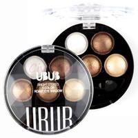 5 Colors Smash Box Pigment Eyeshadow  Eye Shadow Powder Metallic Shimmer UBUB Warm Color Stylenanda 3CE Maquiagem Smoked Makeup